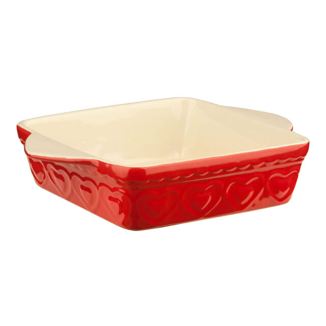 New Ikea LYCKAD Rectangle Lasagne Stoneware Oven Serving Roasting Dish Tray Pan