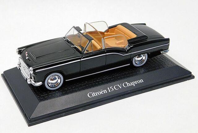 1:43 Norev Citroen 15CV Chapron Presidentielle 1957 black