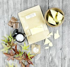 100-nautral-Raw-Pure-Organic-Unrefined-Cocoa-Butter-DIY-skincare-body-cream
