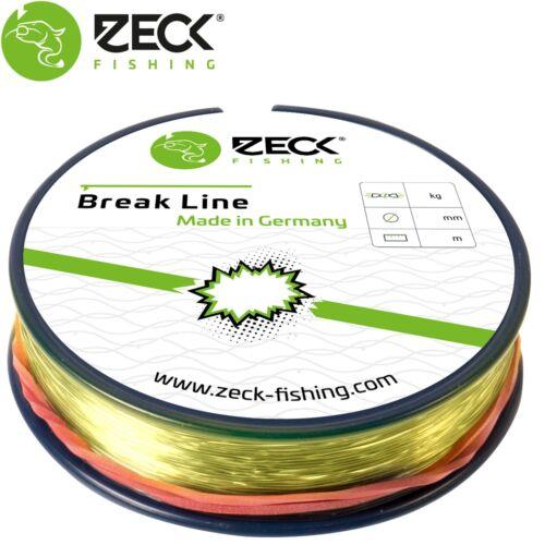 Schnur zum Wall Monofile Reißleine Zeck Break Line 80m 0,40mm 12kg 0,04€//1m