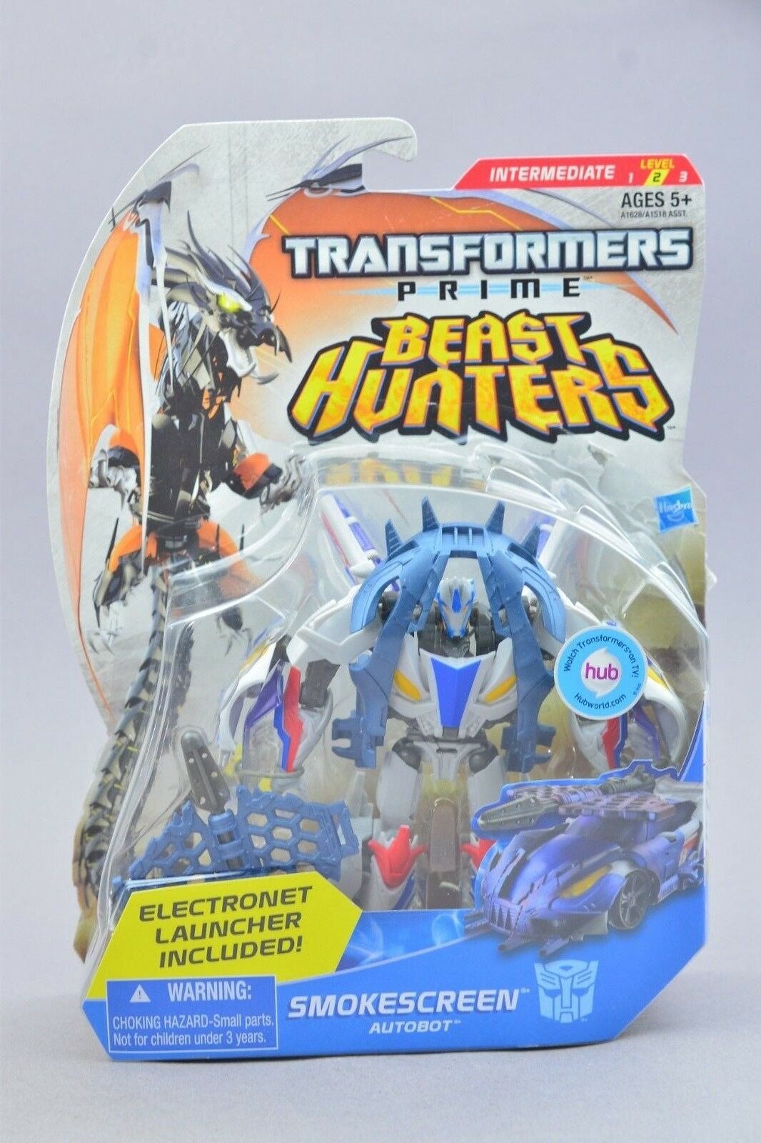 Transformers Beast Hunters Smokescreen Deluxe MOSC