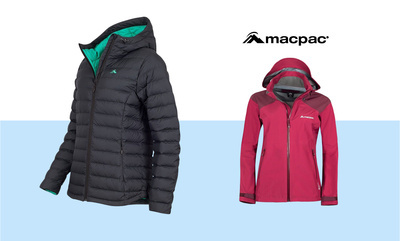 Up to 60% off Macpac