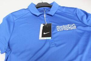 Nike-Scottish-Open-Golf-Aberdeen-Asset-Management-Ladies-Polo-Sleeved-Royal-Blue