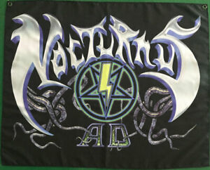 Nocturnus-A-D-Logo-Textile-flag-Thrash-Metal-Morbid-Angel-Armoured-Angel