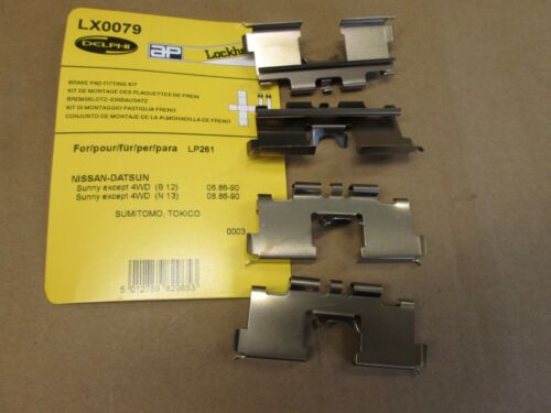 Sunny MK 2 Avant Disque de frein pad Fitting Kit Delphi LX 0079