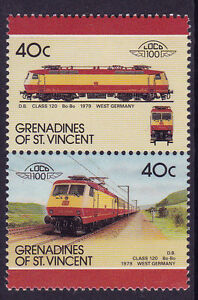 GRENADINES-OF-St-VINCENT-LOCO-100-DB-CLASS-120-Bo-Bo-WEST-GERMANY-STAMPS