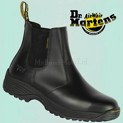 Dr. Martens Dealer Steel Toe Cap Safety Boots Chelsea Market Doc Martins 6654