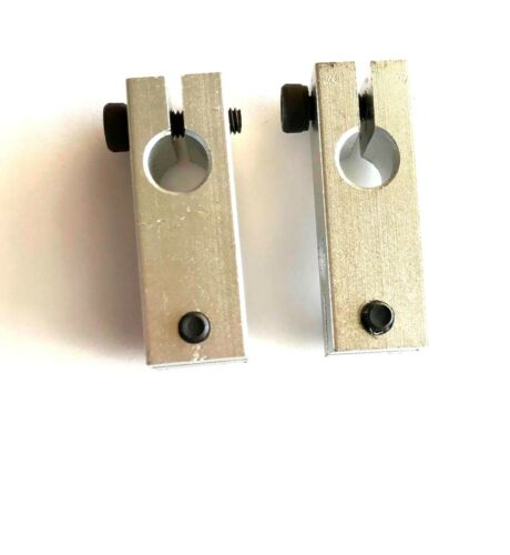 2Pcs Tube cross clamp pillar clamp double  cross connectors for 8mm shaft
