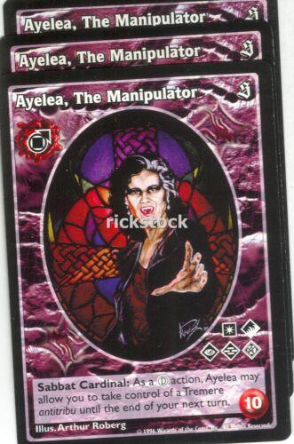 Ayelea The Manipulator x3 Tremere antitribu SE VTES Jyhad