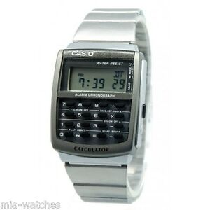 506696d6c969 Casio CA506-1 Mens Classic Digital 8-Digit Calculator Stainless ...