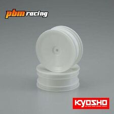 Kyosho 1/10 2wd Front Buggy 12mm Hex Wheels White 56 size/2pcs - W5029W