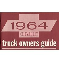 1964 Chevy Truck Owner's Manual