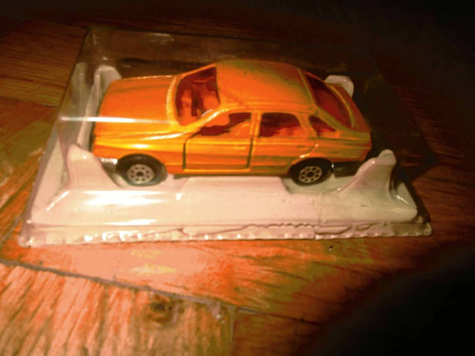 AMAZING RARE METALLIC CAR FORD SIERRA BY ΜAJORETTE  200 FROM 80s MIB