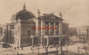 Postcard-RPPC-National-Theatre-Christiana-Norway