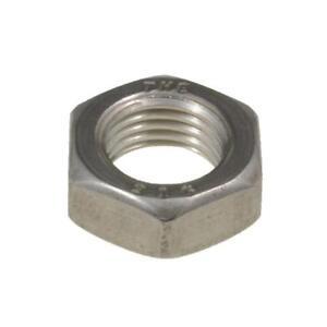 "Qty 300 Thin Nyloc Nut 1//4/"" UNF Zinc Plated Steel Grade 5 Lock Insert ZP"