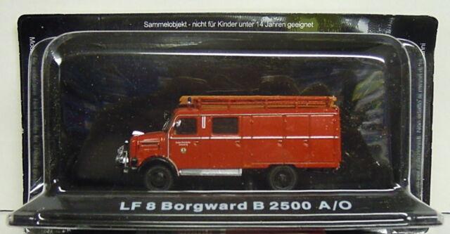 Pompieri Lf 8 Borgward B 2500 A/O , 1:72, Atlas, Giacienza, Merce Nuova