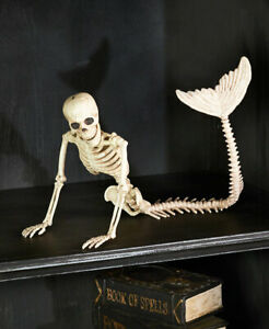 Posable-MERMAID-Skeleton-Halloween-Beach-Decor