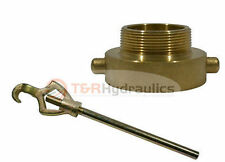 Fire Hydrant Adapter Combo 1 12 Nstf X 1 Nptm Withhydrant Wrench