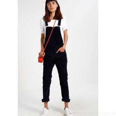 luxuriant in design shades of new release LEVI'S Women's Corduroy Slim Fit Dungarees, Dark Navy Blue, XS / UK 8  5400537417305 | eBay