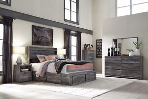 Image Is Loading Ashley Furniture Baystorm Queen Panel 7 Piece Bedroom