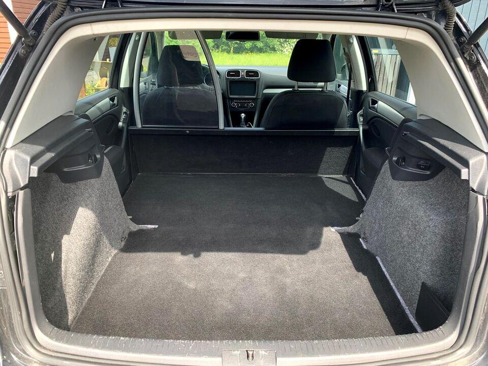 VW, Golf VI, 2,0 TDi 140 Highline DSG Van
