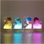miniature 1 - Color Changing KPOP BTS Bangtan Boys LED Plastic Acrylic Lightstick Night Light
