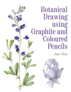 VIZE-SUE-BOTANICAL-DRAWING-USING-GRAPHITE-BOOK-NEUF