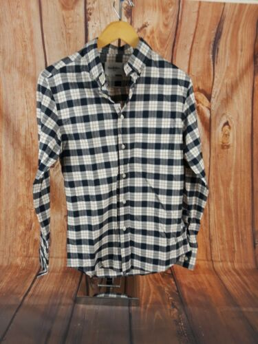 Goodfellow Mens Plaid Long Sleeve Button Down Dress Shirt Small Slim