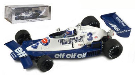 Spark  s1731 TYRRELL 008   3 MONACO GP 1978-Didier Pironi, échelle 1 43,  meilleur prix