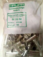 270123 Haupa 100 Stück Aderendhülse 25qmm SI25//25