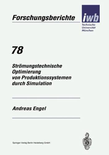 Iwb Forschungsberichte: Strömungstechnische Optimierung Von...