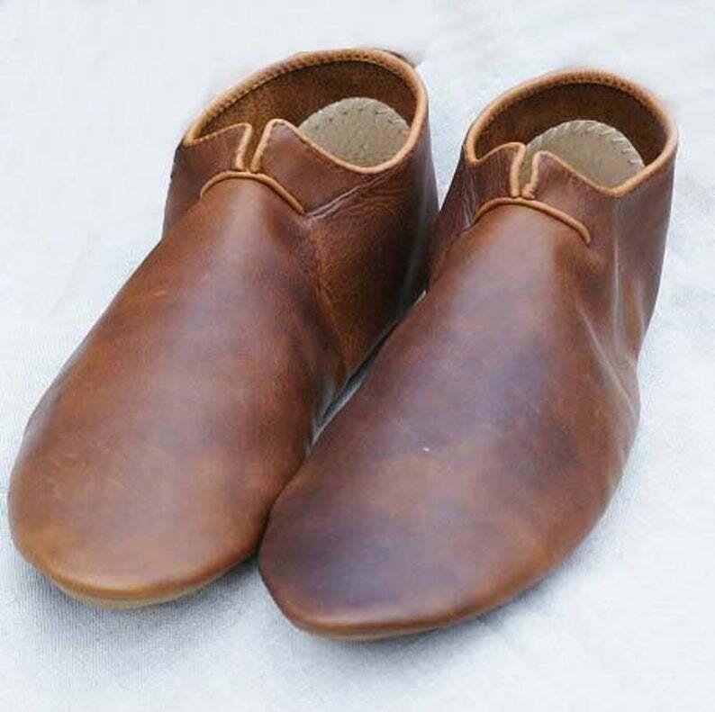 Medieval Shoes, Leather shoes, Viking Shoes, Larp Shoes, Renaissance shoes