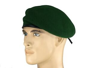 8-60 Laulhere French 100/% Wool Beret Army Commando Red 7 1//2 Made In France