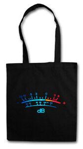 DB Meter II STOFFTASCHE Decibel Music Bass Vinyl Stereo Musik Recorder Studio