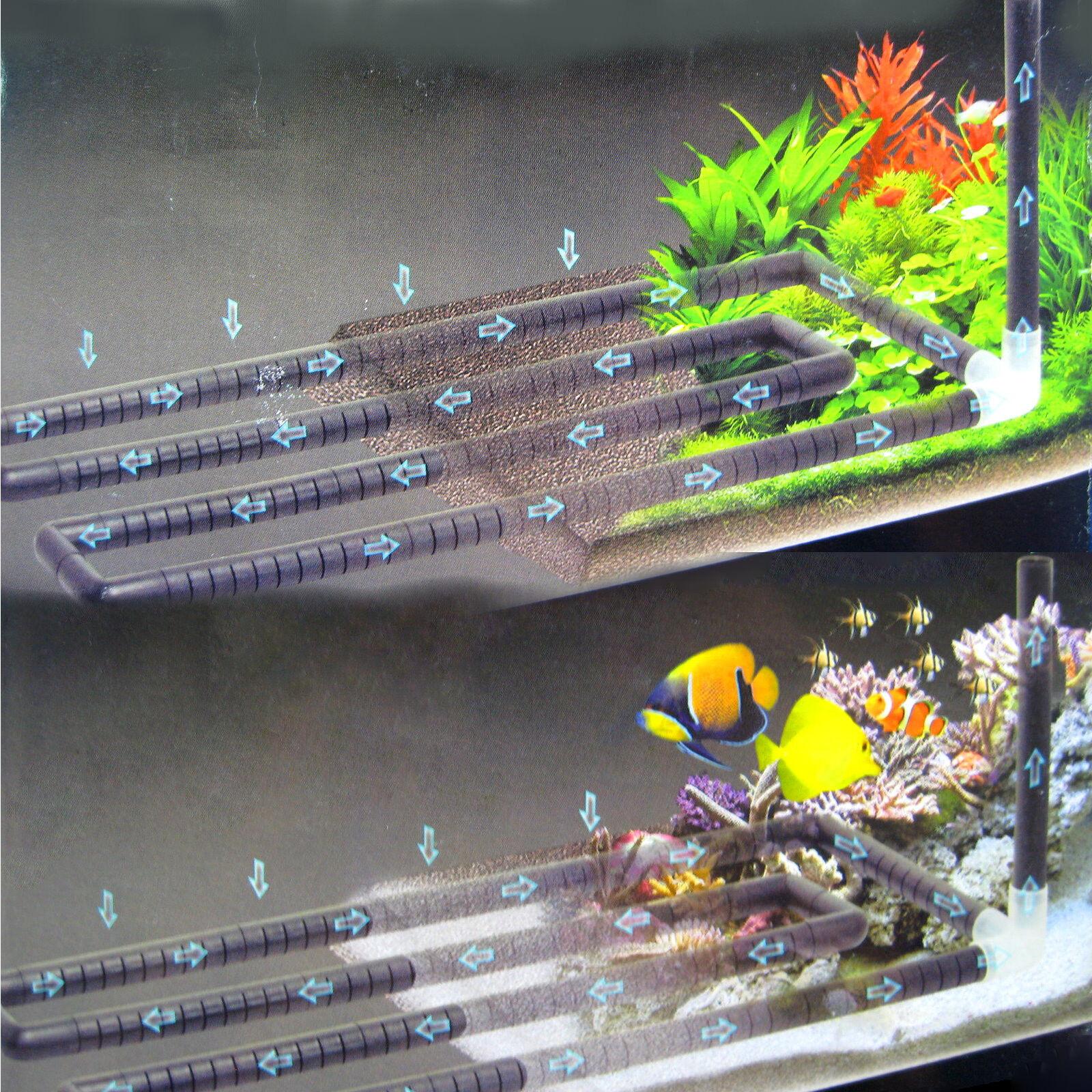 Undergravel Filteration Filteration Filteration Bottom Circular Bar 115x24.5cm Under Gravel Filter Tube 8b49a7