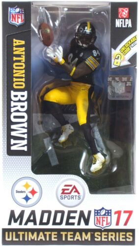 "McFarlane EA SPORTS MADDEN NFL 17 Ultimate Team Series 3 Antonio Brown 6/"" Figure"