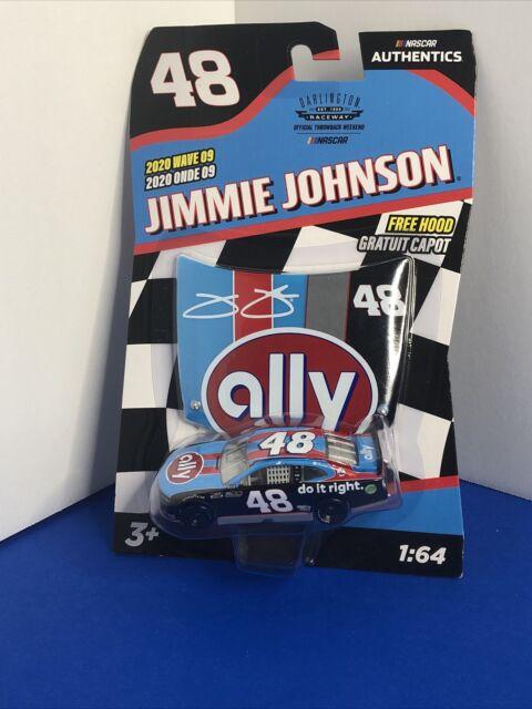 Jimmie Johnson #48 ally Darlington 2020 NASCAR Authentics Wave 9 1/64 Die-Cast