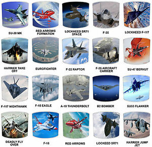 Lampshades-Ideal-To-Match-Aeroplanes-Fighter-Jets-Bedding-Sets-amp-Duvet-Covers