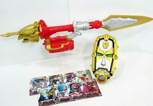 Power-Rangers-Megaforce-Ultra-Dragon-Sword-Gosei-Morpher-7-Cards-Weapon-Lot