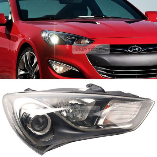 OEM Genuine Parts Halogen Head Light Lamp RH For HYUNDAI 2013-2017 Genesis Coupe