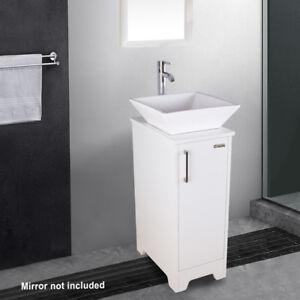 13 Whiteblack Bathroom Small Vanity Combo Round Square Vessel Sink