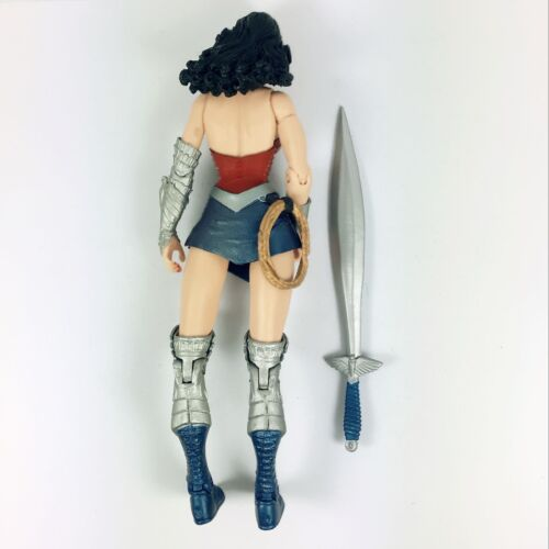 "6/"" DC COMICS TERRA 2 52 Wonder Woman Action Figure-Regalo di Natale Giocattolo Nuova"