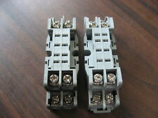 Lot of 5 Idec SH2B-05 Cube Relay Bases 8 Pin Square