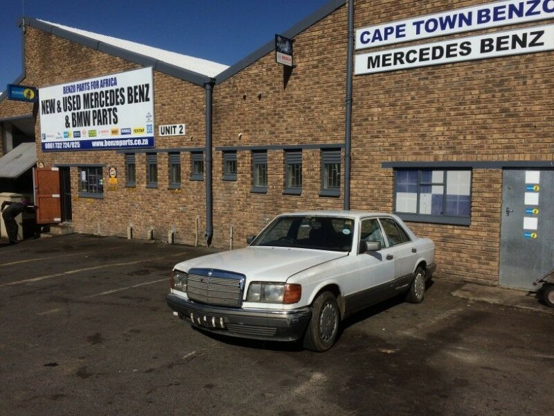 BENZO PARTS NOW STRIPPING: 1992 MERCEDES-BENZ W126 SERIES 300SE AUTO