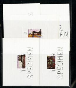 Benin-stamps-Industry-Series-of-5-Specimen-Large-Die-Proofs-VF