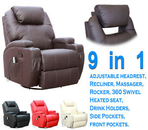 CINEMO-REAL-LEATHER-RECLINER-CHAIR-ROCKING-MASSAGE-SWIVEL-HEATED-GAMING-NURSING
