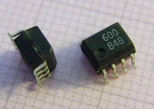 High Speed TTL Compatible Optocoupler 10x HCPL-0600 High CMR Hewlett-Packard