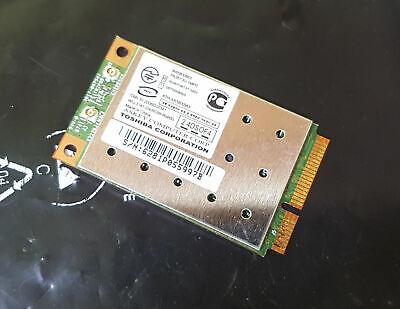 Scheda Wlan Wifi G86c00032310 K000056740 Mini Pci Da Notebook Toshiba P200 P200d-mostra Il Titolo Originale