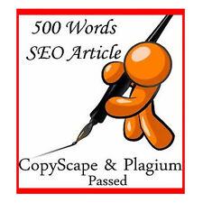 500 Words Unique & Quality SEO Optimized Article Writing Service with Bonus!!!!!