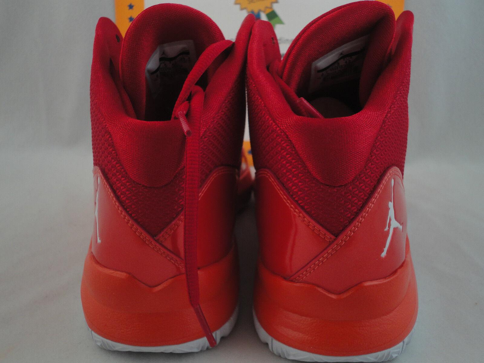 Nike Jordan Aero Mania, Size 11, Flywire, Gym Red Orange, Retail 120